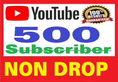500+ Real Youtube Subscribers Safe & NON DROP