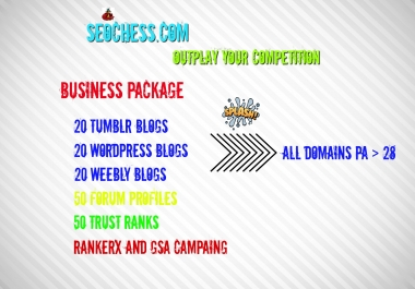 Get Very EFFECTIVE Business SEO Package