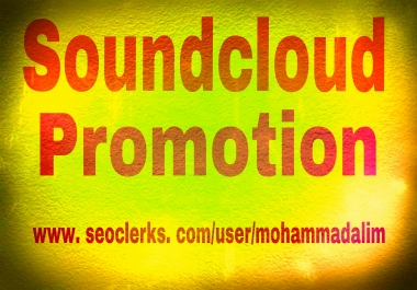 Instant provide you 100+ soundcloud likes 50 repost 10 custom comments