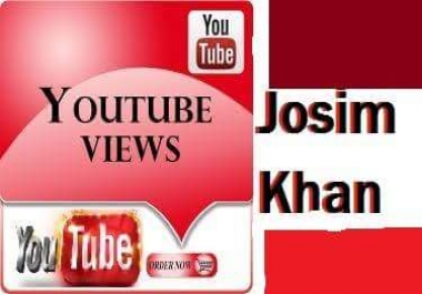 Real give you 7000 -8000 youtube views 1-24 hours delivery