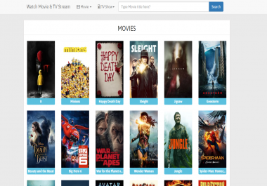 Sell Auto Movie CPA Landing Page Script