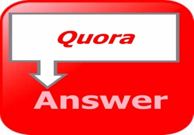 Promote website with 15 Quora answer Backlink
