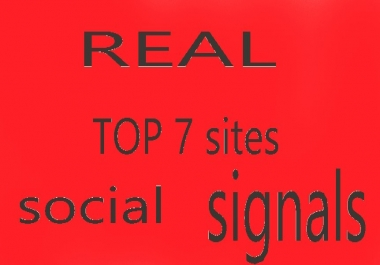 11,000 social signals top 5 site high pr (9) boost your link