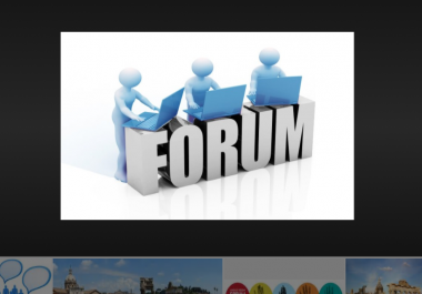 Do 20 forum posting in your niche to get targeted traffic .