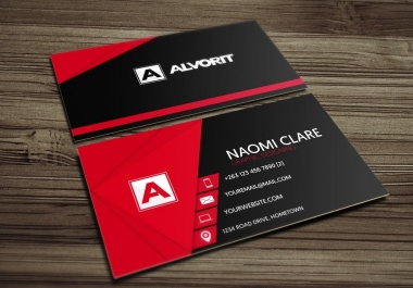 Do Amazing And Unique Business Card Within 2h