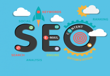 Perform Complete SEO For Your Website and gauranteed goole 1st page rank