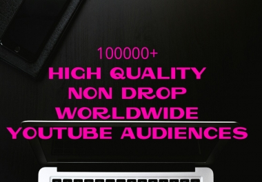 Provide You Authentic, HQ, HR, Non Drop, Worldwide Youtube Audiences