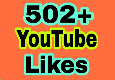 I provide 202+ You Tube video L ikes  in 7-9 hours completed just