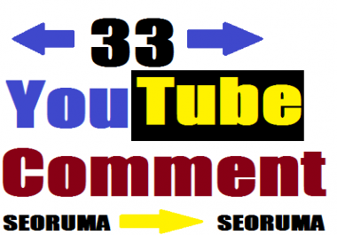 33+ YouTube Real non drop custom comments very fast in 1-2 hours completed