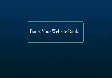 Boost Your Website Rank