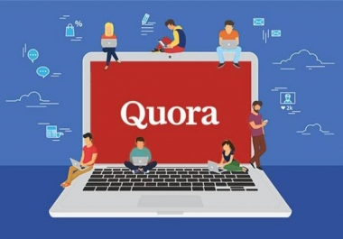 promote Real traffic by HQ 30 Quora answer backlinks