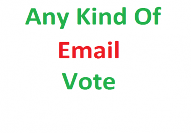 give you 1000 email vote