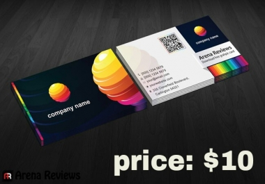 Design  An Amazing business Card within 24 hours