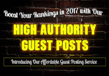 Provide 5 Guest Post On High Quality Dofollow Post DA 50+