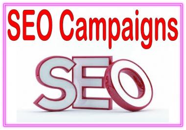 SEO Campaigns- Web 2.0 blogs (Dedicated accounts)-DA (Domain Authority) -Mix profiles backlinks (forum & social networks)