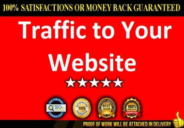 Send 100,000+ real Human traffic from USA