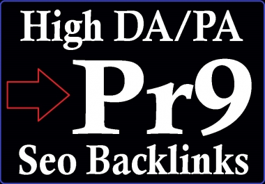 DA 100-70 and PA 90-50 High PR 50 Pr9 Boost Safe Seo Backlinks