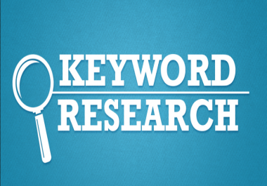 do seo keyword research and compititor analysis