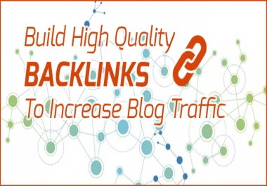 Create High Quality SEO Backlinks , Link Building