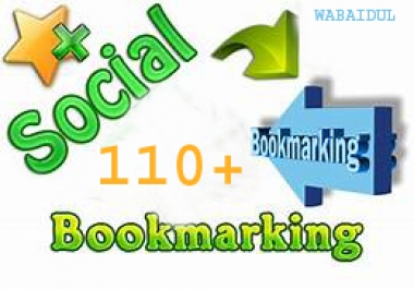 110+ Social Bookmarks DOFOLLOW High PR1-PR7 Authorized Google Dominating BACKLINKS