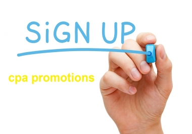 20 cheap sign ups for your website only