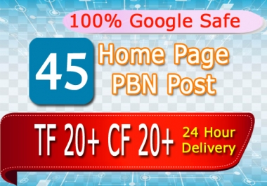 Create 45 Home Page Permanent Pbn Post In 24 Hour
