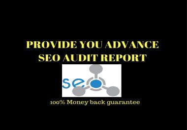 Do Deep Seo Audit For Your Website