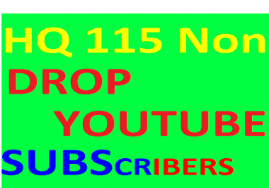 I WILL PROVIDE YOU 107+NON DROP YOUTUBE SUBSCRIBERS FROM GERMANY ONLY