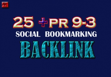 Manually TOP 25+ PR10 to PR5 Safe High Alexa Rank Dofollow Bookmark improve your SERP result