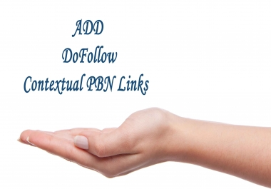 Add 100 Do Follow Contextual PBN links