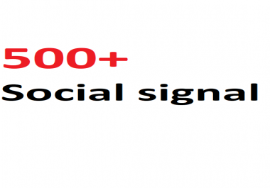 500+ most Affective and Permanent High quality HQ PR social signal to boost you Link