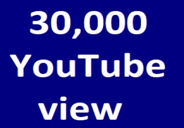Safe 30,000+H.Q YouTube views+200 Likes Extra bonus Just