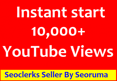 Safe 10,000 HR ,You Tube Views +200 Likes non drop Refill Guaranteed  very fast delivery