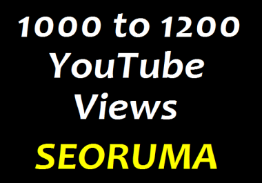 Instant 1000 to 1200 HR Real YouTube Views +33 YouTube Likes +3 YouTube comments Refill Guaranteed in 24 hours completed just