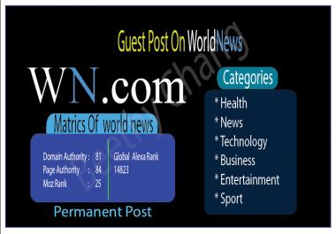 Write  And Publish Guest Post On Wn DA82