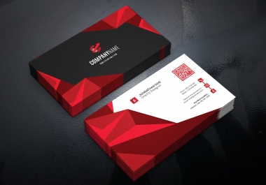 Professional eye catching Business Card & letterhead