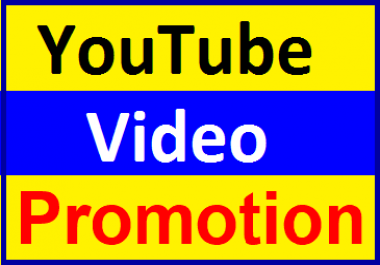 YouTube Video Promotion & Social Media Marketing Fast Delivery