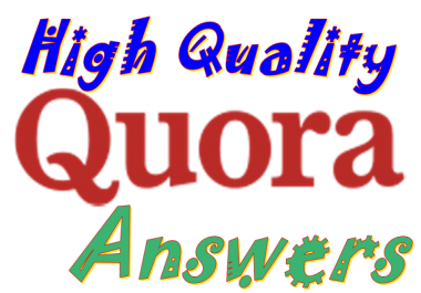 Promote your Real traffic by HQ 12 Quora answer backlinks