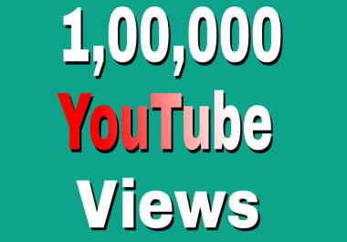100,000+ High Retention YouTube Views +500 Likes Extra Bonus just