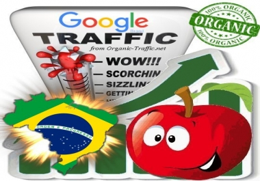 Brasilian Search Traffic from Google.com.br with your Keywords