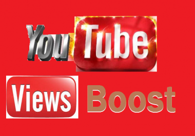 Instant start 10000 to 11000 youtube  video views non drop 1-24 hours delivery