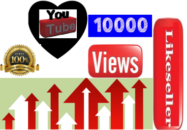 Add super fast 1500to 3000  youtube  video views   24-30 hours delivery