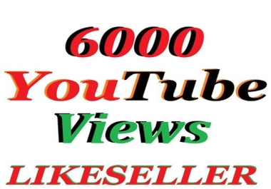 Add super fast 4000 to 5000   Youtube views    24-30 hours delivery