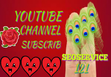 Get 1000-1100 Life Time Non Drop YouTube Channel Subscriber 12-48  hours delivery