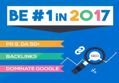 I Do 60 Unique Pr9 SEO Backlinks On Da100 Sites
