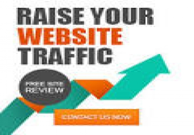 target 100,000+ real organic human traffic from social platform