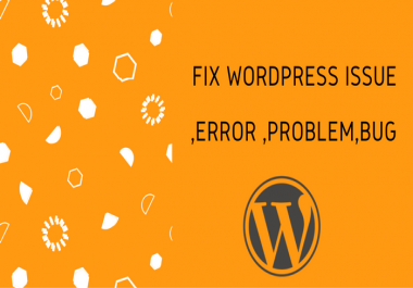 Fix Anytype of WordPress Error , Bugs, or issue