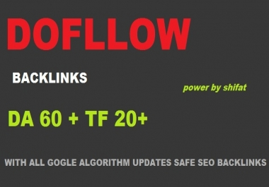 60 Dofollow SEO Backlinks, Boost Your Google Ranking