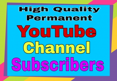 YouTube Promotion & Marketing via real users active and permanent very fast only