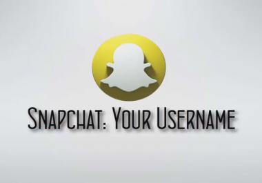 Snapchat Intro video